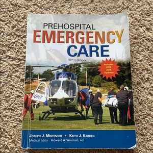 prehospital emergency care 10th edition book